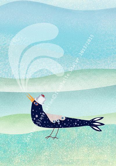 bird card 7