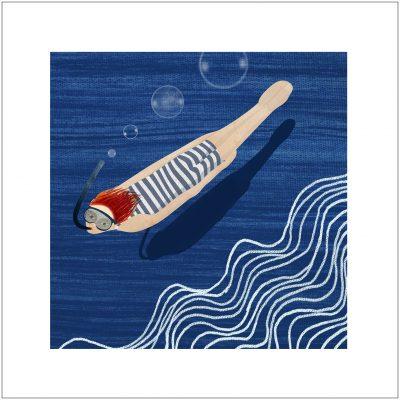 nageur bleu 15 frame copy