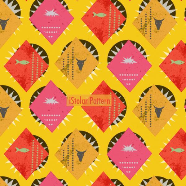 pattern jaune