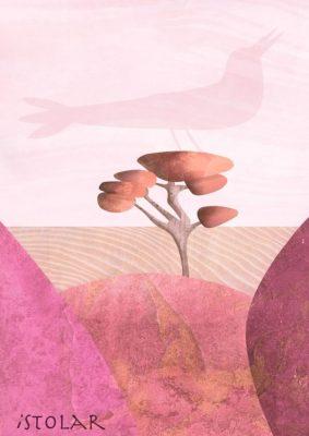 desert texture pink