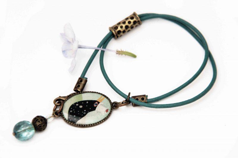 bracelet vert 2