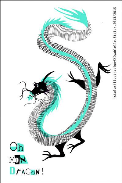 dragone bicolore fran