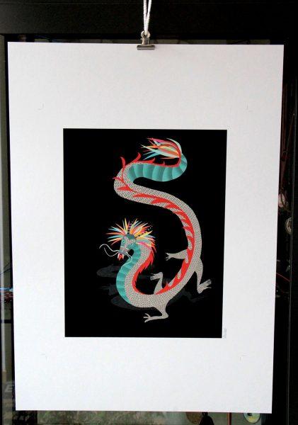 photo dragon noir 2