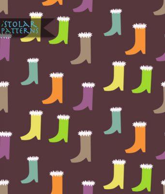 pattern bottes marron