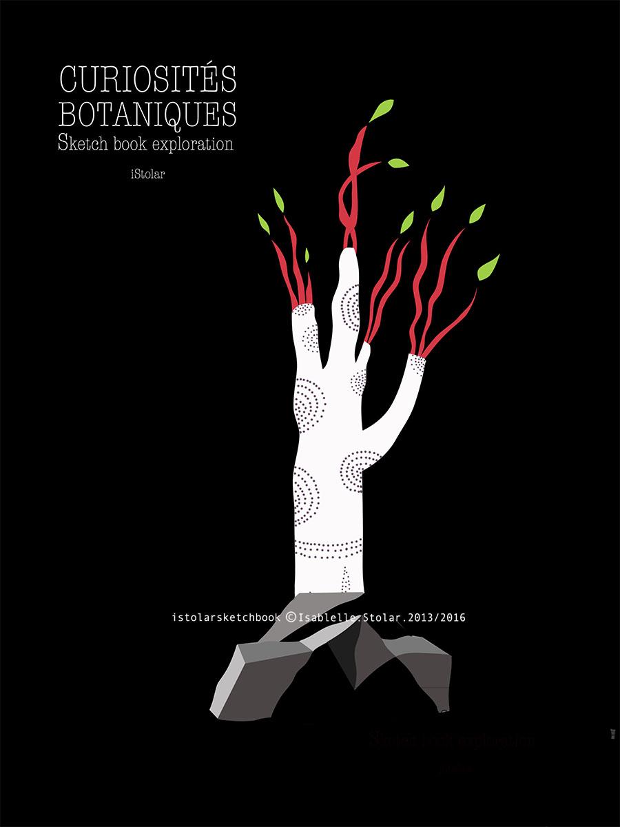 botanique curiosites noir