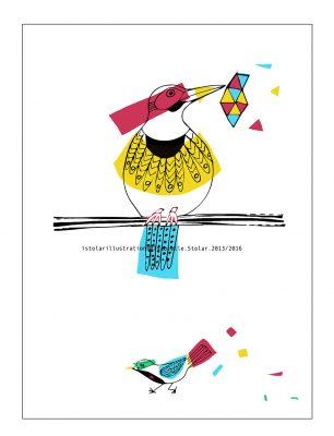 coloriage oiseaux couleur mark