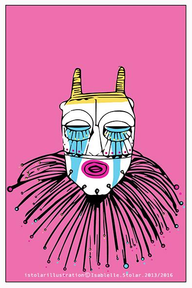 mask carte couleur