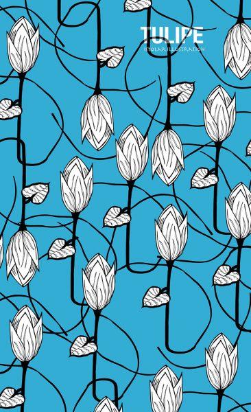 tulipe melee poster 75