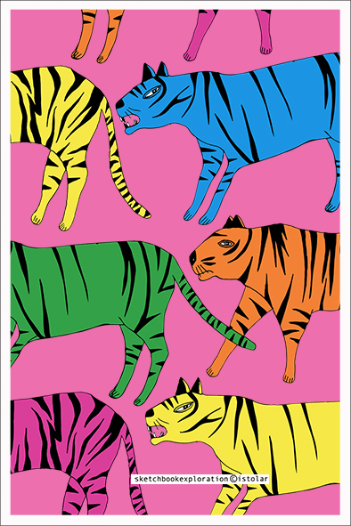 carte les tigres 75