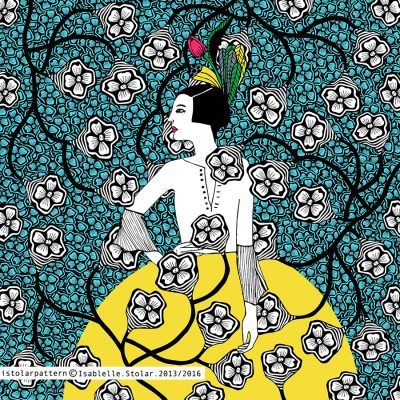 flamenca et pattern Gif 2 mark